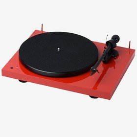 Debut III RecordMaster (OM 10) Red Pro-Ject