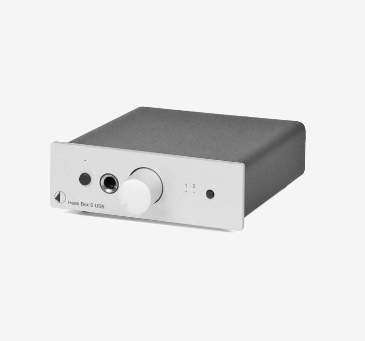 Head Box S USB Silver