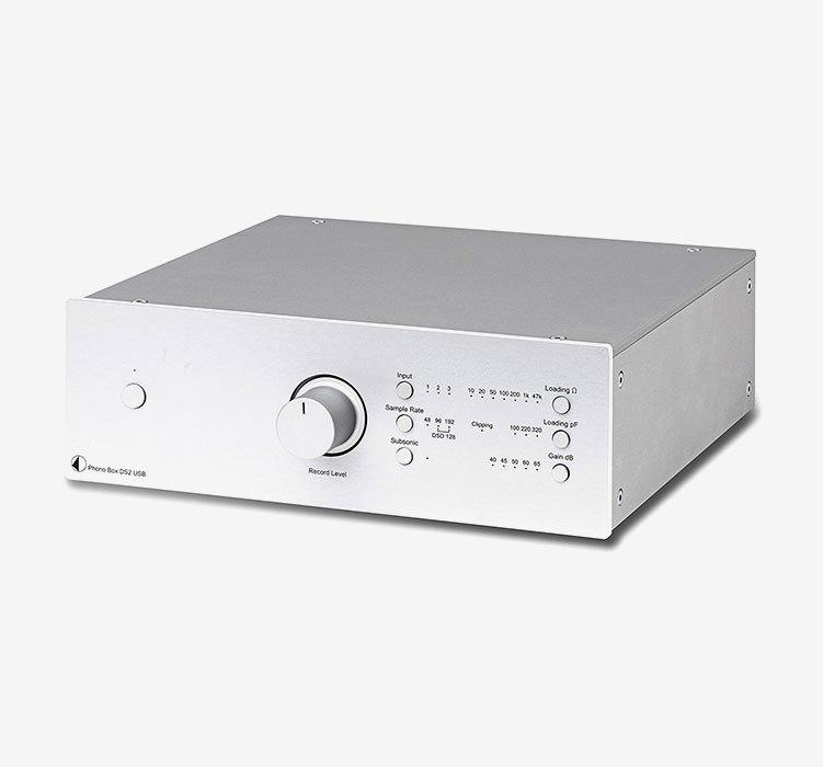 Phono Box DS2 USB Silver