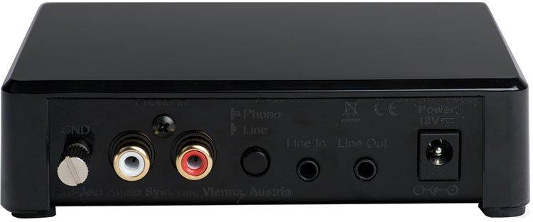 Phono Box E Bluetooth Black