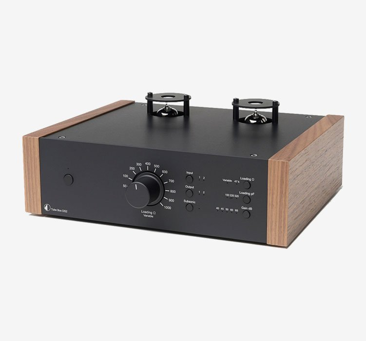 Tube Box DS2 Black Walnut