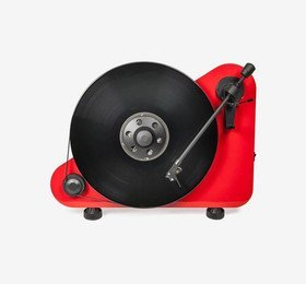 VT-E R (OM 5E) High Gloss Red Pro-Ject