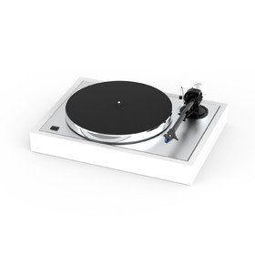 The Classic 2M-Blue Satin White	 Pro-Ject