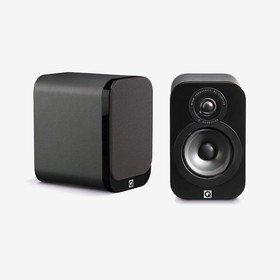 3010 Black Leather Q Acoustics