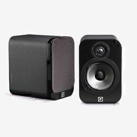3020 Black Leather Q Acoustics