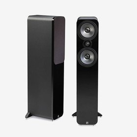 3050 Black Leather Q Acoustics