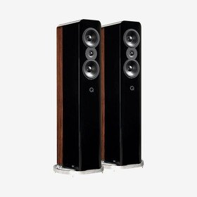Concept 500 Gloss Black/Rosewood Q Acoustics