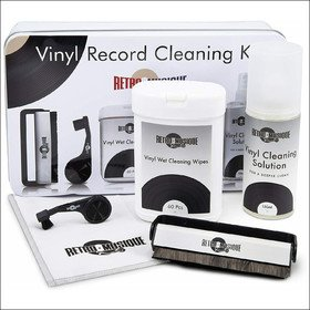 Vinyl Record Cleaning Kit In Tin (Deluxe) Retro Musique