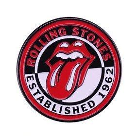 Rolling Stones enamel Pin Vinyla Pins