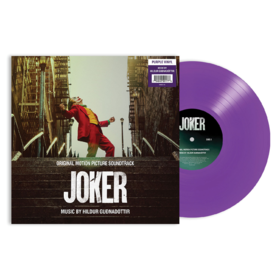 Joker by Hildur Gudnadottir (Purple Vinyl) Original Soundtrack