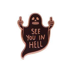 See You In Hell Vinyla Pins