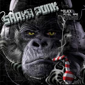 The Black Pixel Ape Shaka Ponk