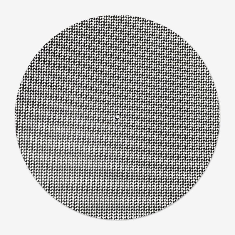 Слипмат черно-белый для винилового проигрывателя
