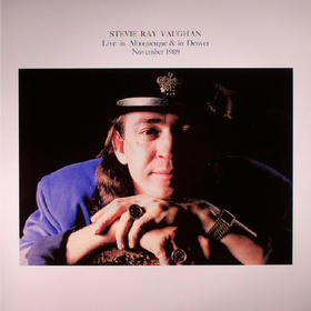 Live In Albuquerque & Denver November 1989 Stevie Ray Vaughan