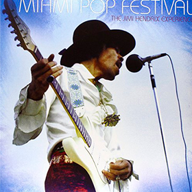 Miami Pop Festival The Jimi Hendrix Experience