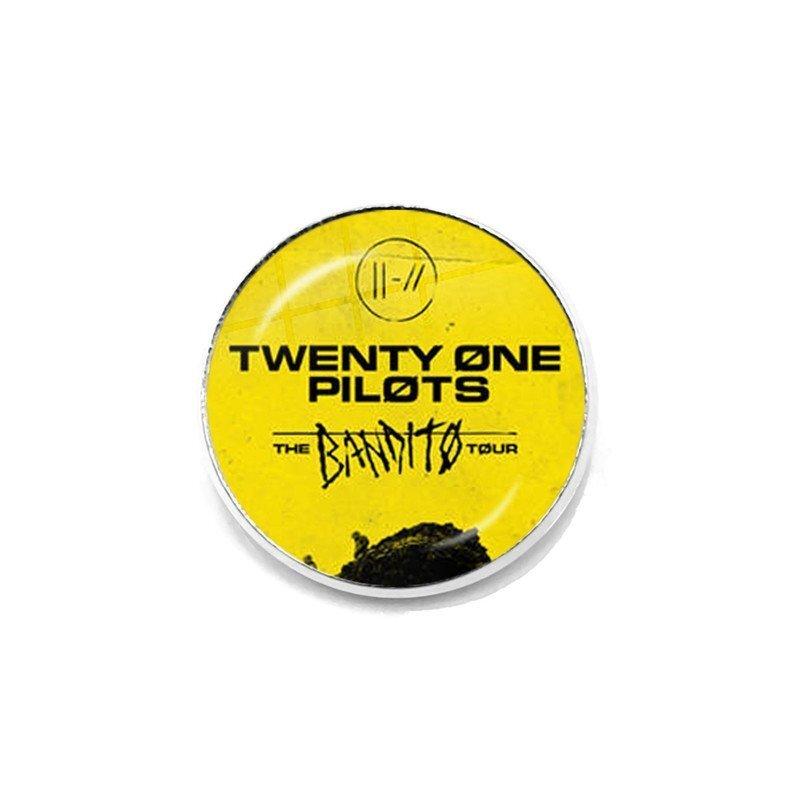 Twenty One Pilots Yellow Pin