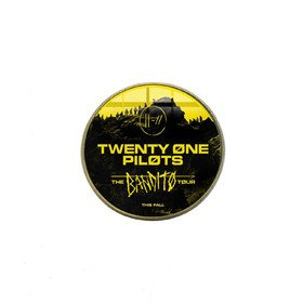 Twenty One Pilots Black Vinyla Pins