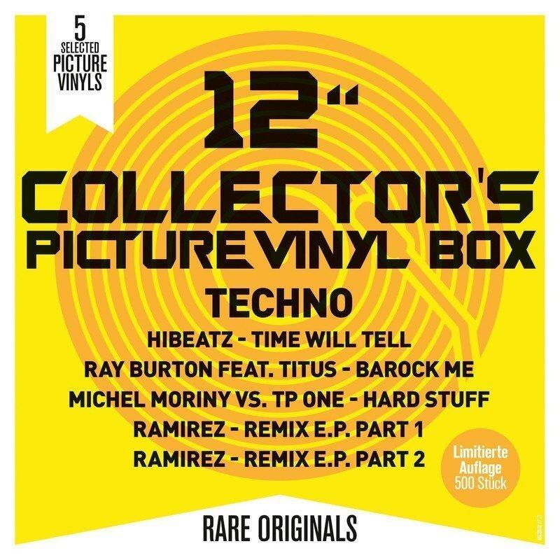 """12"""" Collector's Picture Vinyl Box - Techno"""