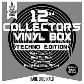"12"" Collector's Vinyl Box (Techno Edition) Various Artists"
