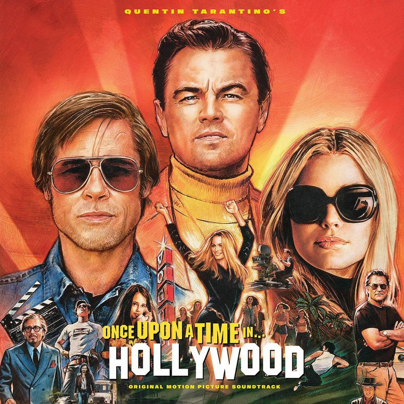 Quentin Tarantino's Once Upon A Time In Hollywood (Coloured)