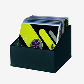 VF Record Box 12' Black Vinyla Furniture