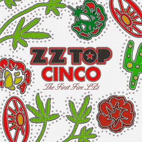 Cinco: The First Five Lp's Zz Top